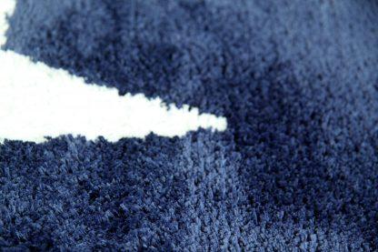 Badematte Stern Blau 1
