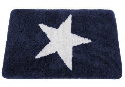 Badematte Stern Blau 2Neu