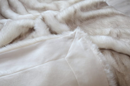 Acryl Polar Fuchs Creme und Sibirischer Wolf BraunFolgebuchstaben (a, b, c...) neu _15