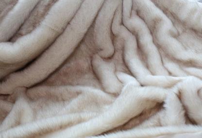 Acryl Polar Fuchs Creme und Sibirischer Wolf BraunFolgebuchstaben (a, b, c...) neu _16