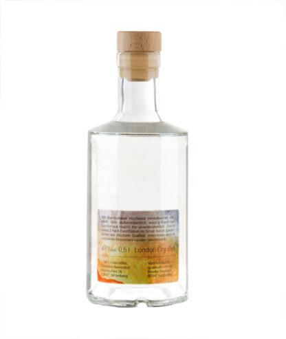 Gin Rückseite